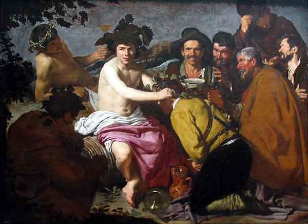 El triunfo de Baco o Los Borrachos de Diego Velázquez