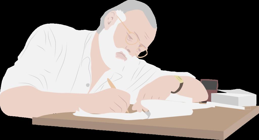 Ernest Hemingway, autor de El viejo y el mar